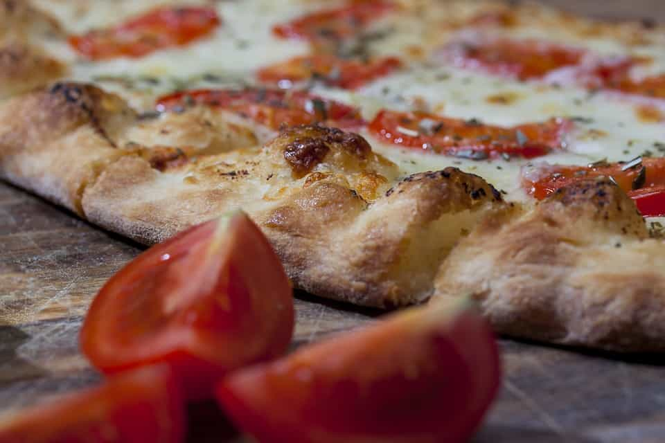 ristorante Il Giardino pizza gustosa e digeribile